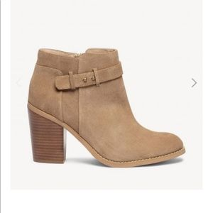 """Sole Society """"lyric"""" suede bootie"""